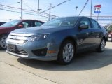 2011 Sterling Grey Metallic Ford Fusion SE #37033823