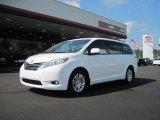 2011 Super White Toyota Sienna XLE #37033474