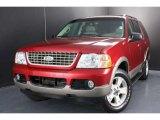 2003 Redfire Metallic Ford Explorer Eddie Bauer 4x4 #37032765