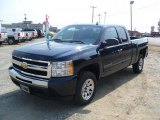 2011 Imperial Blue Metallic Chevrolet Silverado 1500 LS Extended Cab #37033835