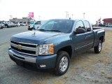 2011 Blue Granite Metallic Chevrolet Silverado 1500 LT Extended Cab #37033839