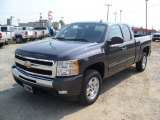 2011 Taupe Gray Metallic Chevrolet Silverado 1500 LT Extended Cab #37033842