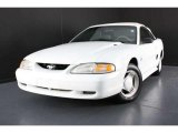1994 Crystal White Ford Mustang V6 Convertible #37032811