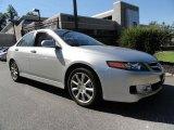 2008 Alabaster Silver Metallic Acura TSX Sedan #37033169