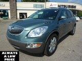 2009 Silver Green Metallic Buick Enclave CXL AWD #37032831