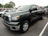 2008 Timberland Green Mica Toyota Tundra Double Cab #37033865