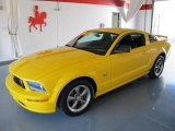 2006 Screaming Yellow Ford Mustang GT Premium Coupe #37032835