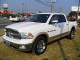 2011 Bright White Dodge Ram 1500 Laramie Crew Cab #37033923