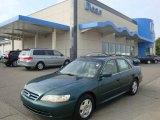 2002 Noble Green Pearl Honda Accord EX V6 Sedan #37033928