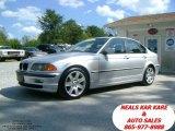 2001 Titanium Silver Metallic BMW 3 Series 325i Sedan #37033255