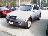 2005 Ice Blue Metallic Kia Sorento EX 4WD #37032916