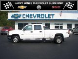 2006 Summit White Chevrolet Silverado 3500 LT Crew Cab 4x4 Dually #37033625