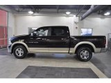 2011 Rugged Brown Pearl Dodge Ram 1500 Laramie Crew Cab #37033285