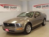 2005 Mineral Grey Metallic Ford Mustang V6 Deluxe Coupe #37033967