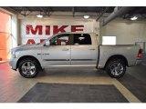2010 Bright Silver Metallic Dodge Ram 1500 Sport Crew Cab #37033287
