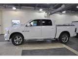 2010 Stone White Dodge Ram 1500 Sport Crew Cab #37033288