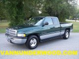 1999 Emerald Green Pearl Dodge Ram 1500 SLT Extended Cab #37032957