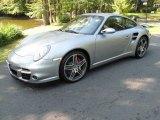 2007 GT Silver Metallic Porsche 911 Turbo Coupe #37032983