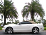 2007 Performance White Ford Mustang GT Premium Convertible #37125237