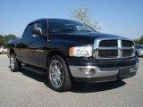 2005 Black Dodge Ram 1500 SLT Quad Cab #37125628