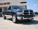 2003 Patriot Blue Pearl Dodge Ram 1500 SLT Quad Cab #37125629