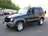 2002 Black Jeep Liberty Sport 4x4 #37125660