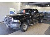 1998 Black Dodge Ram 1500 Laramie SLT Extended Cab 4x4 #37125467