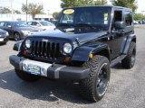 2010 Black Jeep Wrangler Sahara 4x4 #37162892