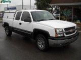 2005 Summit White Chevrolet Silverado 1500 LS Extended Cab 4x4 #37175222