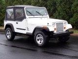 1988 Jeep Wrangler White