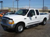 2000 Oxford White Ford F250 Super Duty XLT Extended Cab #3708317