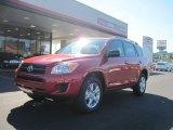 2011 Barcelona Red Metallic Toyota RAV4 I4 #37175346