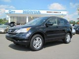 2010 Crystal Black Pearl Honda CR-V EX-L #37175360