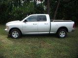 2009 Bright Silver Metallic Dodge Ram 1500 SLT Quad Cab #37175376