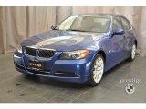 2007 Montego Blue Metallic BMW 3 Series 335i Sedan #37174980