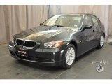 2007 Deep Green Metallic BMW 3 Series 328xi Sedan #37174982