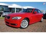 2009 Crimson Red BMW 3 Series 328i Sedan #37175417