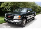 2003 Polo Green Metallic GMC Sierra 2500HD SLT Crew Cab 4x4 #37175213