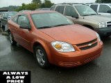 2007 Sunburst Orange Metallic Chevrolet Cobalt LS Coupe #37224834
