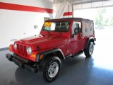 2006 Flame Red Jeep Wrangler Unlimited 4x4 #37224835