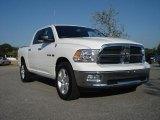 2010 Stone White Dodge Ram 1500 Big Horn Crew Cab 4x4 #37225509