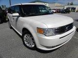 2010 White Platinum Tri-Coat Metallic Ford Flex SEL #37225281