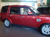 2010 Land Rover Range Rover Rimini Red Pearl