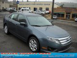2011 Steel Blue Metallic Ford Fusion SE #37225110