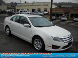 2011 White Suede Ford Fusion SE #37225113