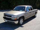2002 Light Pewter Metallic Chevrolet Silverado 1500 LS Extended Cab #37225638
