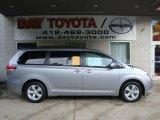 2011 Silver Sky Metallic Toyota Sienna LE #37224957