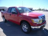 2010 Vermillion Red Ford F150 XLT SuperCab #37225663