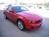 2011 Race Red Ford Mustang V6 Premium Coupe #37225666