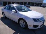 2011 White Platinum Tri-Coat Ford Fusion SE #37225669